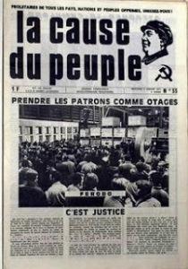 cause du peuple 1971
