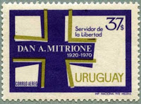 dan mitrione poststamp uruguay