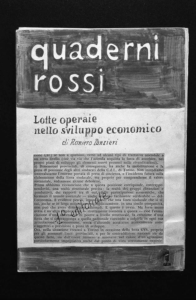 Αποτέλεσμα εικόνας για quaderni rossi panzieri