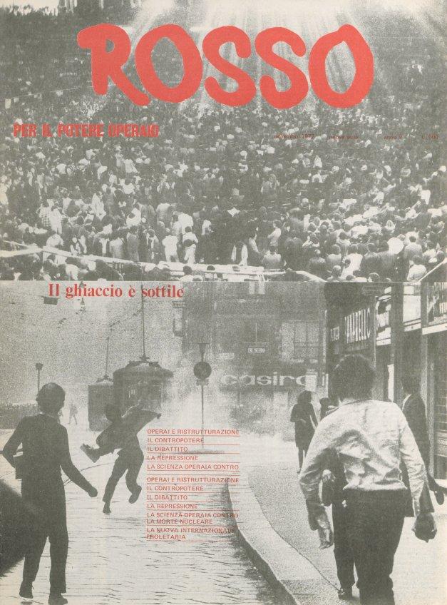 Αποτέλεσμα εικόνας για giornale rosso anni 70