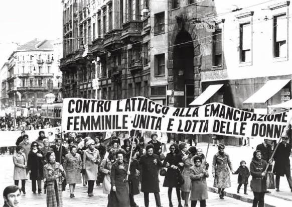 Αποτέλεσμα εικόνας για  anni 70,Lea Melandri