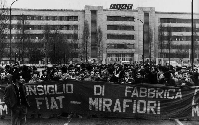Αποτέλεσμα εικόνας για occupazione mirafiori 1973